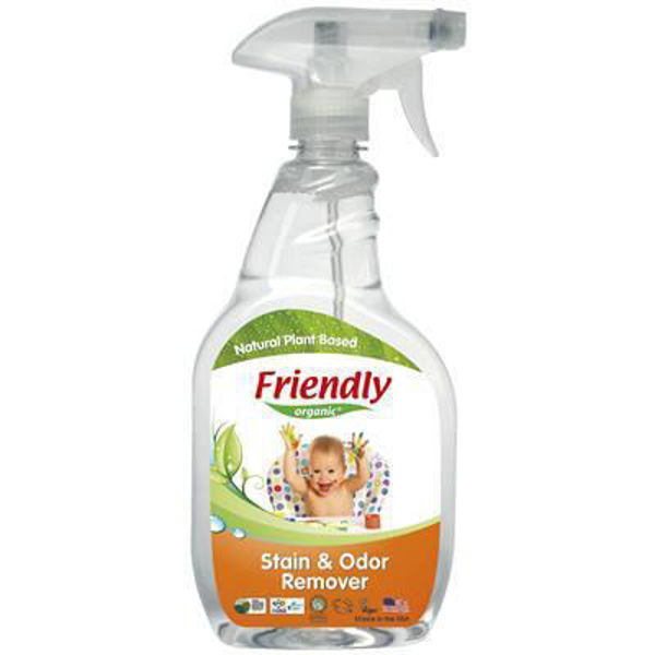 Obrazek Friendly Organic, Odplamiacz i eliminator zapachów, 650 ml